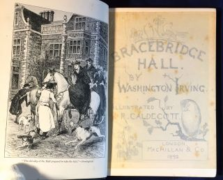 BRACEBRIDGE HALL; Illustrated by R. Caldecott