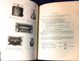 OLD PEWTER; ITS MAKERS AND MARKS / in England, Scotland, and Ireland / An Account of the Old Pewterer and His Craft / ]Iillustrating all known marks and secondary marks of the old pewterers with a series of plates showing the chief types of their wares