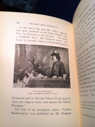 THE LIFE AND LETTERS OF LEWIS CARROLL; (Rev. C. L. Dodgson)