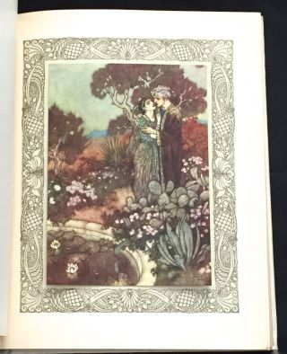 Rendered into English Verse by Edward Fitzgerald With Illustrations by Edmund Dulac