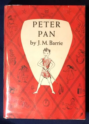 PETER PAN; Story by J. M. Barrie / Illustrated by Nora S. Unwin. J. M. Barrie