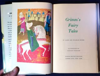 GRIMM'S FAIRY TALES; Illustrated by Leonard Weisgard