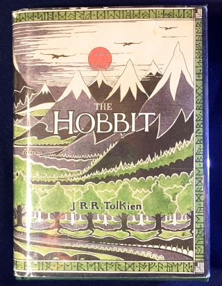 The HOBBITT; or There and Back Again. J. R. R. Tolkien