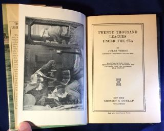 20,000 LEAGUES UNDER THE SEA; Illustrated with Scenes from the Photo-play Produced and Copyright by the Universal Film Company