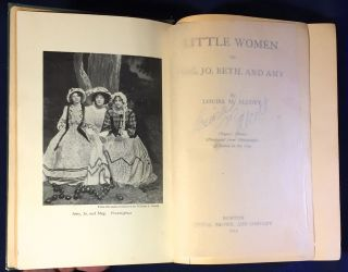 LITTLE WOMEN; or Meg, Jo, Beth and Amy / Player's Edition Illustrated from Photographs of Scenes in the Play