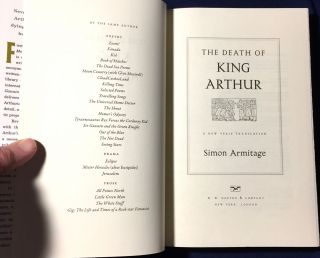 THE DEATH OF KING ARTHUR; A New Verse Translation
