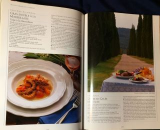 PROVENCE; The Beautiful Cookbook / Authentic Recipes from the Regions of Provence / Recipes and Food Rext by Richard Olney / Regional Text by Jacques Gantié / Food Phoyography by Peter Johnson / Styled by Janice Baker / Scenic Photography by Michael Freeman
