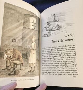 THE WIND IN THE WILLOWS; Illustrated by TASHA TUDOR