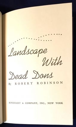 LANDSCAPE WITH DEAD DONS