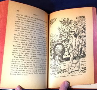 TARZAN AND THE CITY OF GOLD; Illustrated by Jesse Marsh / Authorized Abridged Edition