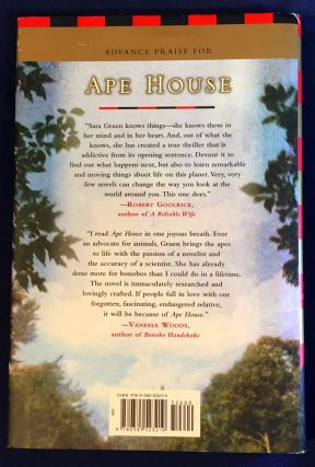 APE HOUSE; A Novel