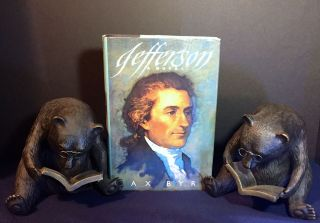 JEFFERSON; A Novel. Max Byrd