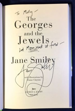THE GEORGES AND THE JEWELS; A Novel.