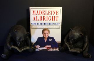 MEMO TO THE PRESIDENT ELECT; How We Can Restore America's Reputation and Leadership. Madeleine...