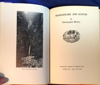 SHAKESPEARE AND HAWAII; Illustrated by Douglas Gorsline