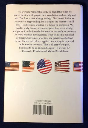 THAT USED TO BE US; How America fell behind in the world it invented and how we can come back