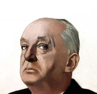 VLADIMIR NABOKOV: oil painting by Gerard de Rose for Time magazine's cover of the novelist on May...