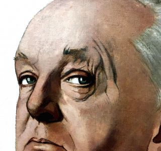 VLADIMIR NABOKOV: oil painting by Gerard de Rose for Time magazine's cover of the novelist on May 23, 1969.