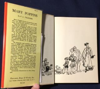 MARY POPPINS; Illustrated by Mary Shepard