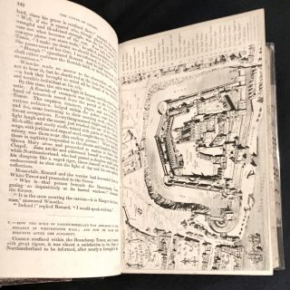 THE TOWER OF LONDON.; A Historical Romance / Illustrated by George Cruikshank