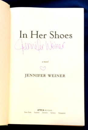 IN HER SHOES; a novel