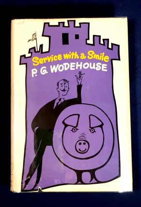 SERVICE WITH A SMILE. P. G. Wodehouse.