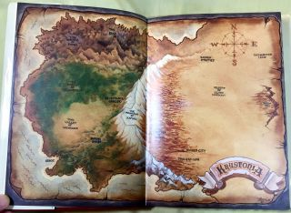 THE CHRONICLES OF KRYSTONIA; Translated by Beau Dix and Mark Scott [Illustrated by Mark Newman]