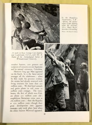 BEYOND THE BOUNDS OF HISTORY; Scenes from the Old Stone Age / by Henri Breuil / English Translation by Mary E. Boyle / Foreword by Field-Marshal J. C. Smuts
