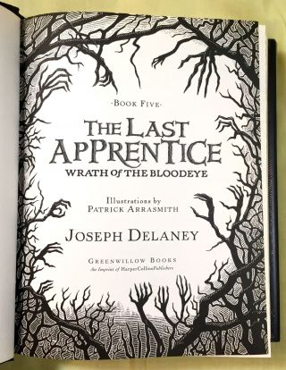 THE LAST APPRENTICE / BOOK FIVE; Wrath of The Bloodeye