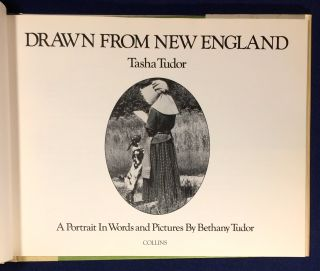 DRAWN FROM NEW ENGLAND; A Protrait In Words and Pictures By Bethany Tudor