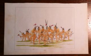 Discovery Dance. Print, CATLIN: Indian Dance