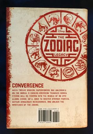 THE ZODIAC LEGACY; Book One / CONVERGENCE / Written by Stan Lee and Stuart Moore / Art by Andie Tong