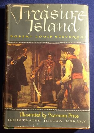 TREASURE ISLAND; Illustrated by Norman Price. Robert Louis Stevenson