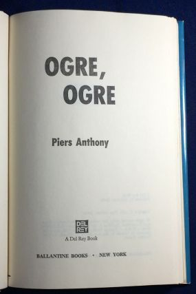 OGRE, OGRE; Piers Anthony