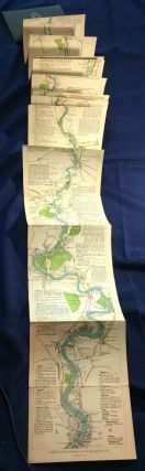 THE OARSMAN'S AND ANGLER'S MAP OF THE RIVER THAMES; New Edition