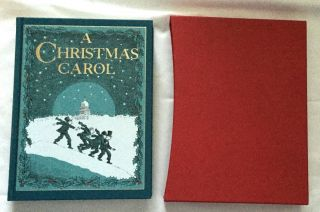 A CHRISTMAS CAROL / In Prose; Being / A Ghost Story of Christmas / Illustrated by Michael...