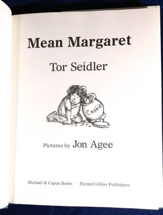 MEAN MARGARET; Pictures by Jon Agee