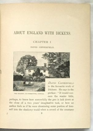 ABOUT ENGLAND WITH DICKENS; A New Edition with Fifty-Eight Illustrations