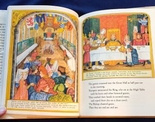 A MEDIEVAL FEAST; written and illustrated by ALIKI
