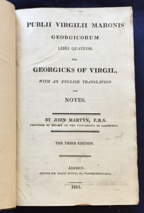 PUBLII VIRGILII MARONIS / GEORGICORUM; Libri Quatuor / THE GEORGICS OF VIRGIL / with an English...