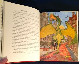 THE BOOK OF DRAGONS; Selected and Illustrated by Michael Hague