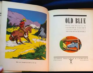 OLD BLUE; Story and Pictures by Sanford Tousey