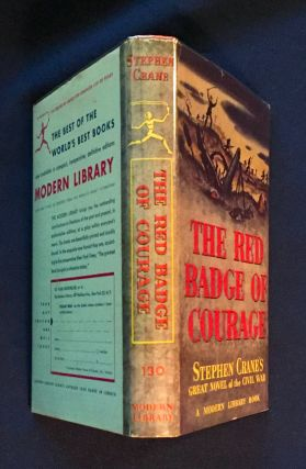 THE RED BADGE OF COURAGE; An Episode of the American Civil War / Introduction by Robert Wooster Stallman