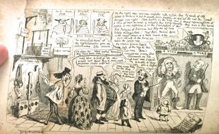 THE COMIC ALMANACK for 1843; with Twelve Illustrations of the Months by Geo. Cruikshank