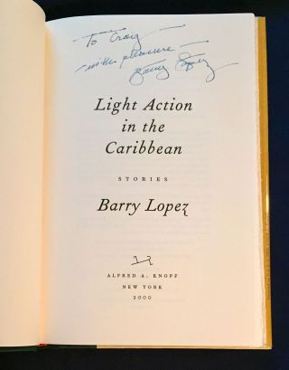 LIGHT ACTION IN THE CARIBBEAN; Stories