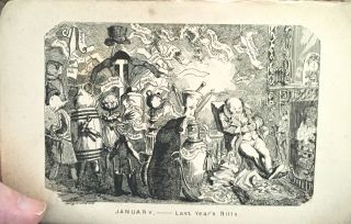 THE COMIC ALMANACK for 1837; with Twelve Illustrations of the Months by Geo. Cruikshank
