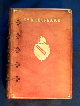 THE COMPLETE WORKS OF WILLIAM SHAKESPEARE; Edited with a Glossary by W. J. Craig. William...