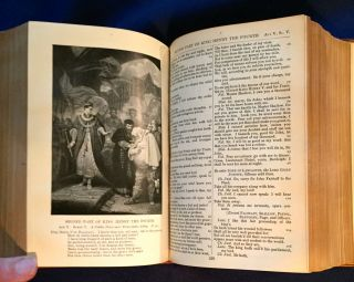 THE COMPLETE WORKS OF WILLIAM SHAKESPEARE; Edited with a Glossary by W. J. Craig