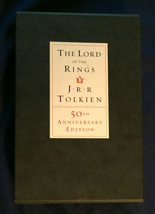 THE LORD OF THE RINGS; J.R.R. Tolkien / 50th Anniversary Edition /