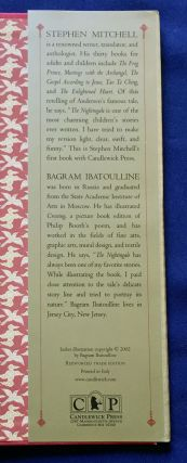 THE NIGHTINGALE; retold by Stephen Mitchell / illustrated by Bagram Ibatoulline